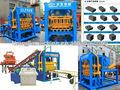 Moyen type qt4-15d hydroform cendres volantes briques machines