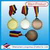 Medal keys metal antique brush blank medal charm pendants metal