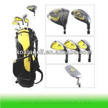 Popular junior golf club set and junior golf bag