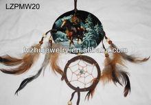 framed Indian style dream catcher wall decor LZPMW20