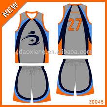 2013 Oem custom basketball uniform manufacture