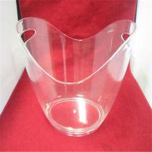 outdoor ice bucket with holder,ice buckets set