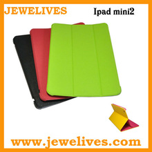 Fashion Leather flip protect case for apple ipad mini