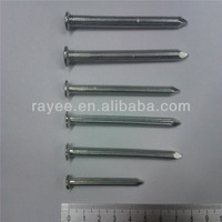 "Galvanized /Black Flat Head Concrete Nails 1""to4"""