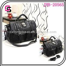 Hot Sale Designer Handbag Women Handbag Skull and Rivet Bag