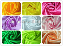 100% 210t taffeta polyester cheap satin lining fabric