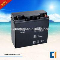 VRLA MF sealed lead acid battery 12v 18ah