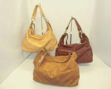Sling sholder bag type hobo for women made from PVC