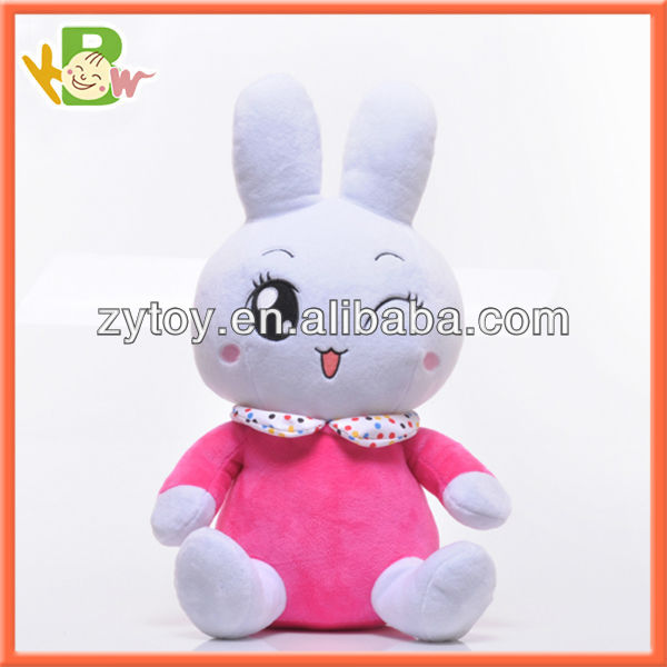 Popular interactive Plush electronic toy rabbit for kids funny