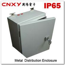IP65 waterproof stainless steel plexiglass door power distribution box