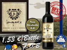 BONAPARTE Non-alcoholic Red Dry Wine 0.0% 12x750ml