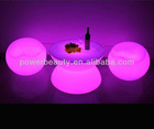 color changing multi function led bar table