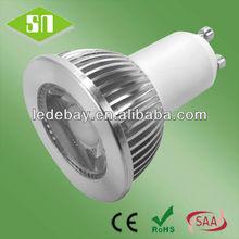 35degree 5w 6w 7w cob GU10 led adapter bulb gu10 to e27