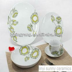 luxury porcelain dinner set,elegance fine porcelain dinner set,ceramic dinner set