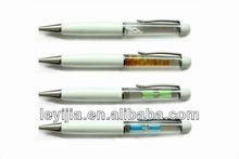 Custom pens floating liquid metal pen as business gift - LY139