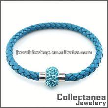 Handmade Leather Bracelet Ideas Super Magnetic Stainless Steel Bracelet Charm Bracelets Popular