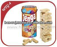 Wooden Jenga Game