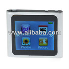 "1.8"" touch screen touchscreen 6th gen mp3 mp4 player 2gb with fm radio"