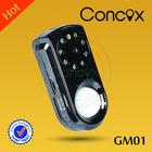 Concox Remote control by mobile message GSM video smart camera alarm / home security camera alarm GM01