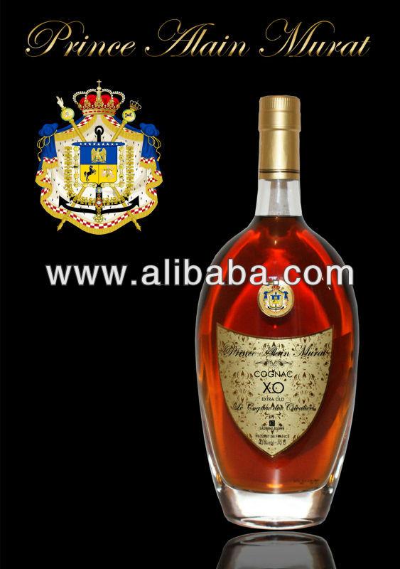 Cognac XO Prince Alain Murat por Laurent Jouffe