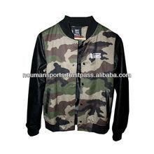 International Brand custom varsity jackets , camo flag varsity jackets