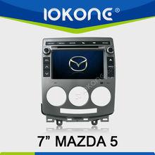 In dash 2 din Car DVD player GPS navigation for Mazda 5 2005-2010