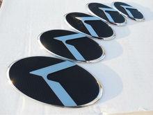 For Kia Hyundai LEXUS STYLE Emblems Badges Logo K VIP