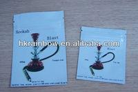 100mg 400mg Hookah Blast Herbal incense bag with zipper