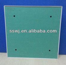 steel tile door with water resist gypsum board