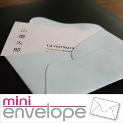 Gift and souvenir many color variation envelopes small