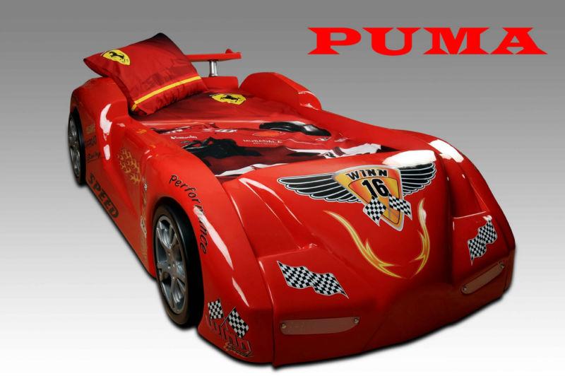 Letto A Forma Di Macchina Da Corsa : Letto a forma di macchina cars. macchina da corsa di legno jpg