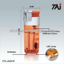 TAJ brand unique cigarette lighters