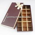 bonita de papel cajas de chocolate