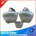 acciaio zincato a caldo del tubo raccordi