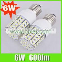 Bbier perfect lightness superior quality e27 led corn bulb 6w