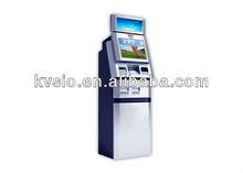 impresión de fotos del quiosco de pago máquina expendedora con impresora de recibos