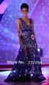 bo2609 mejor precio cuello v cáscara corto en el interior fuera de largo sexy miss mundo 2013 los vestidos de concurso de tamaño personalizado hecho