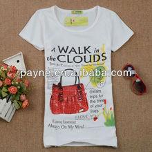 popularly women sexy tight t-shirts 2013