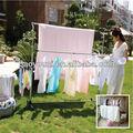 Bonunion ropa gancho de soporte estándar de tela ropa de metal estante de secado dq-0812