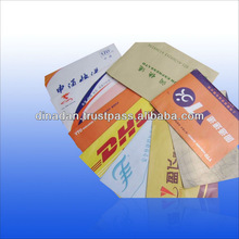 DHL Courier Express Mail bags Waterproof shipping bags