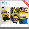 Despicable me cute Minions PC case for iphone 4, for iphone 4 cases hard cases