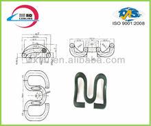 Spring steel fastener used rail tracks