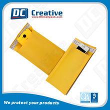 Protective kraft paper composite bubble mailing envelope