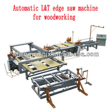Hot sale! high quality automatic Longitudinal & Transverse edging saw machine for plywood/sliding table saw
