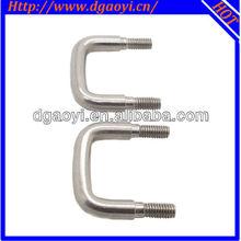 China AOYI stainless steel good quality u threaded bolt