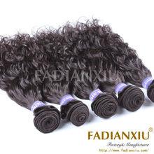 No tangling mongolian virgin wet and wavy hair