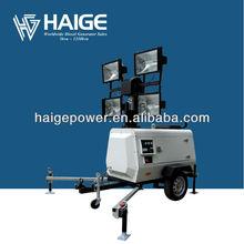 outdoor light tower generator MLT41000-10T (4x1000W, KUBOTA ENGINE +STAMFORD ALTERNATOR)
