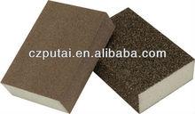 Abrasive polish sponge block