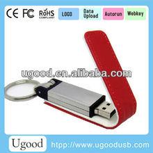 Hot sale leather case usb flash drive 4gb 8gb 16gb 32gb,custom usb stick free data load