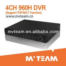 2013 Hot Sales P2P 960H/WD1 DVR H.264 4CH CCTV DVR Security